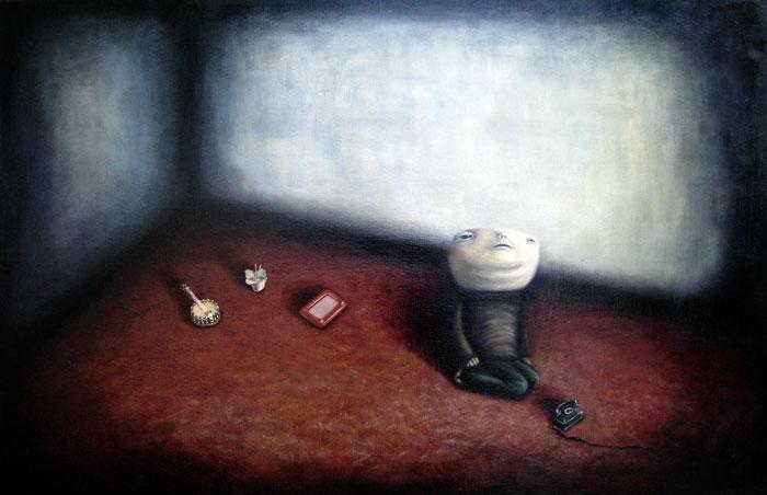 Kindgom, oil on canvas, 24x36