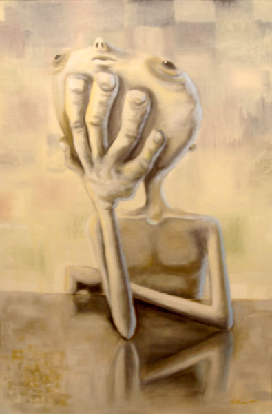 today, acrylic on canvas, 24x36