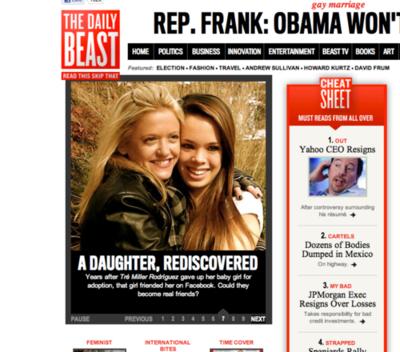 Daily Beast (May 2012)