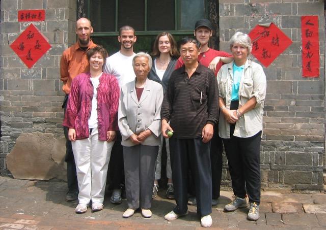 Gongfu training with Master Li Run Xi, Tai Yuan, China