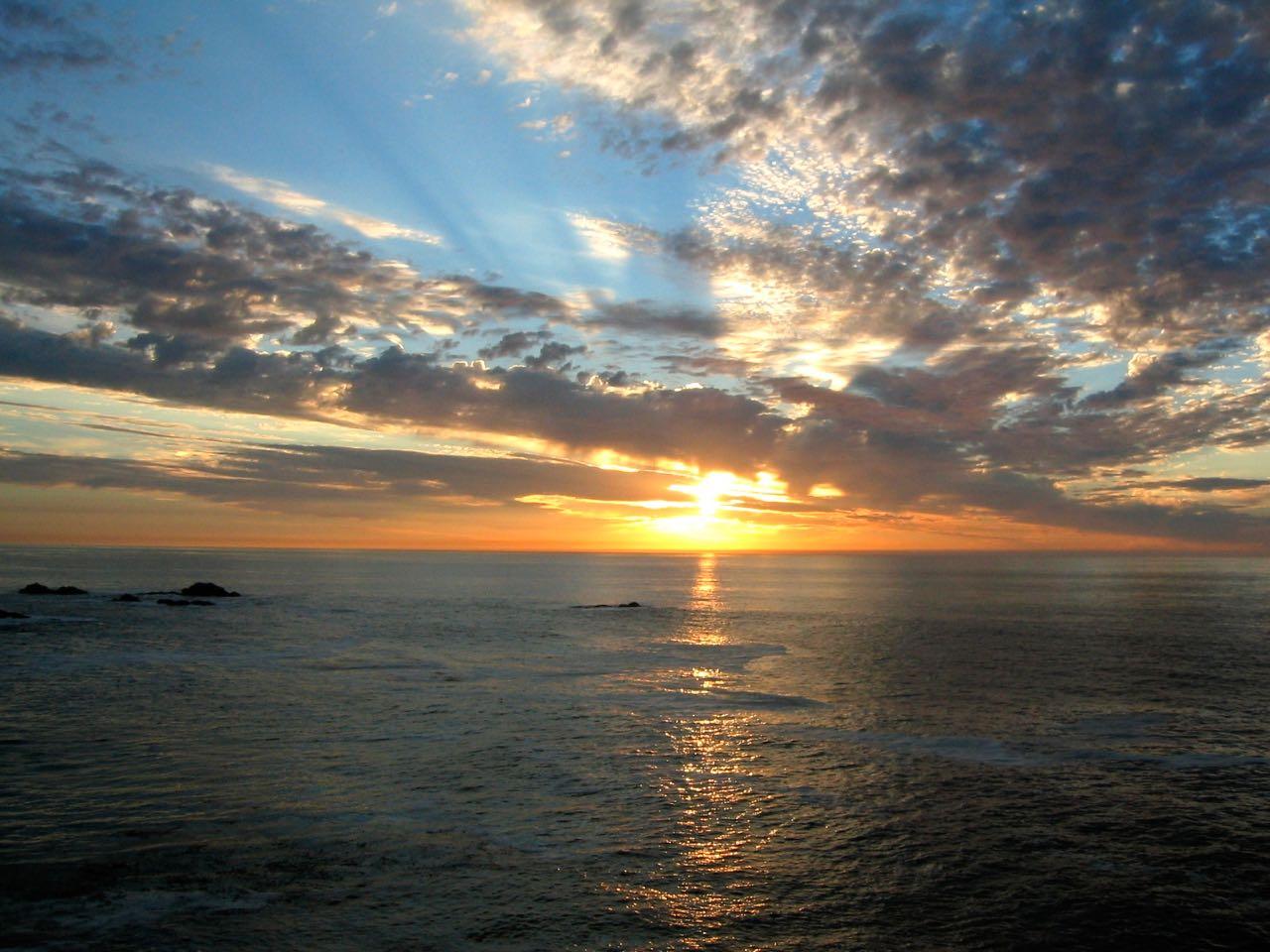 Northern California coast line near Pt. Lobos