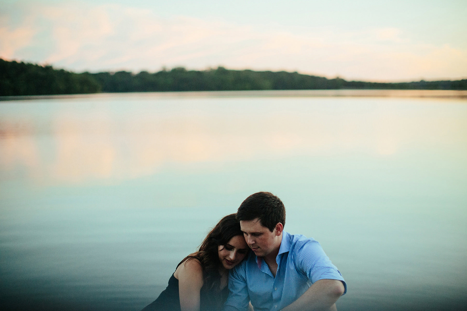 28_Shawnee Mission Park Lake Engagement Session Kansas City, Missouri_Kindling Wedding Photography.JPG