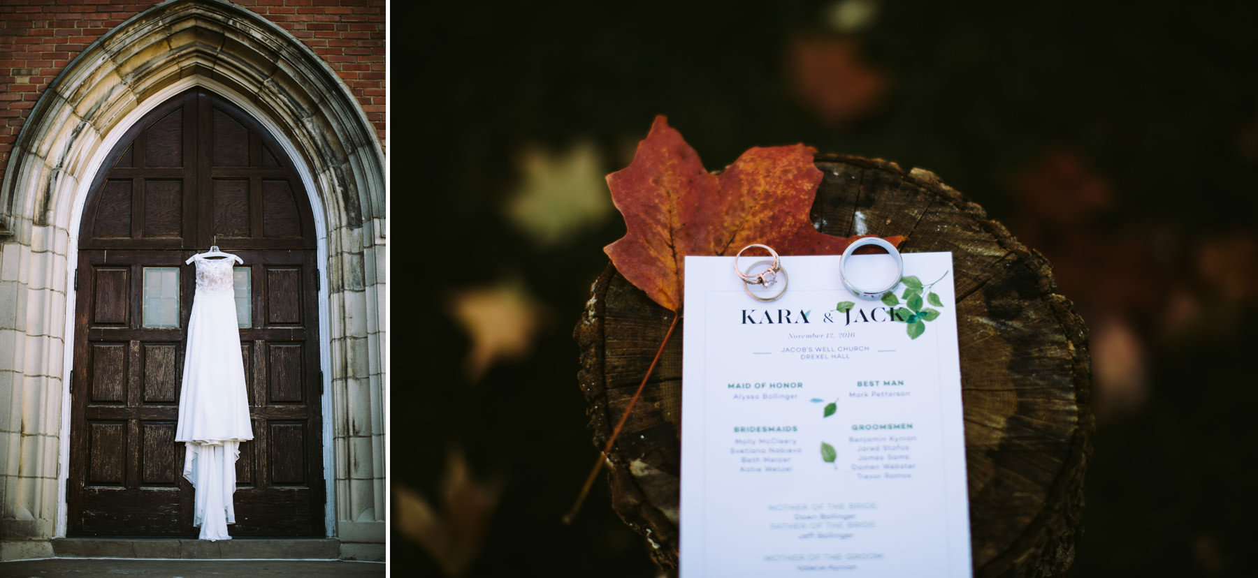 31_Jacob's Well Church Drexel Hall Fall Wedding Kansas City, Missouri_Kindling Wedding Photography.JPG