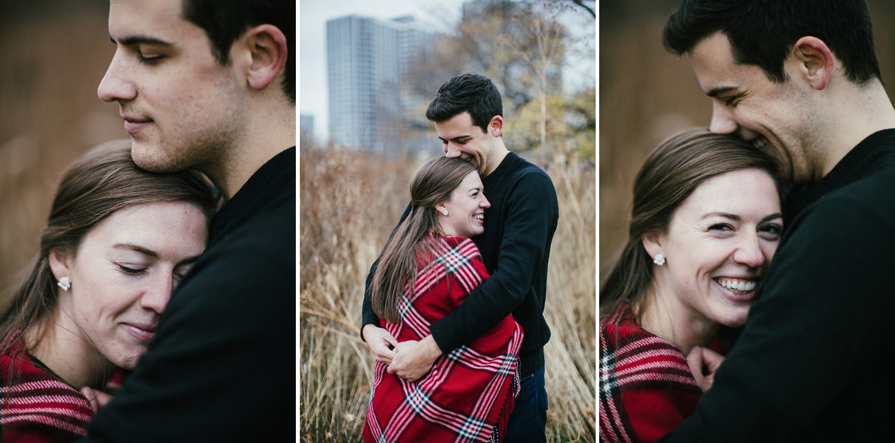 157_Montrose Beach Skyline Engagement Session Chicago, Illinois_Kindling Wedding Photography.JPG