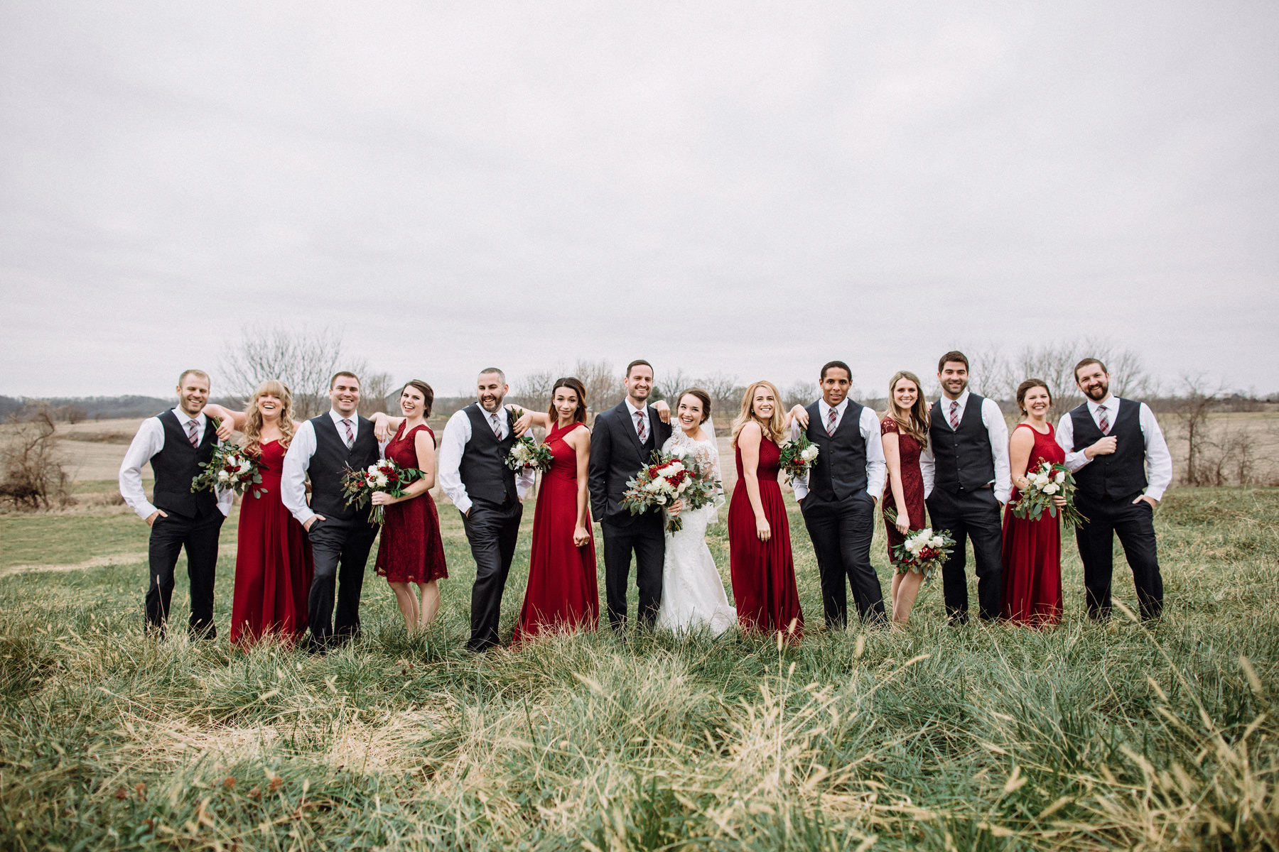 169_Weston Red Barn Farm Winter Wedding Kansas City, Missouri_Kindling Wedding Photography.JPG