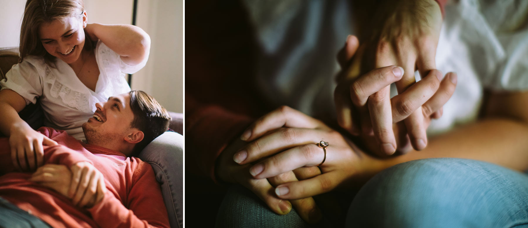 201_In Home Intimate Engagement Session Kansas City, Missouri_Kindling Wedding Photography.JPG