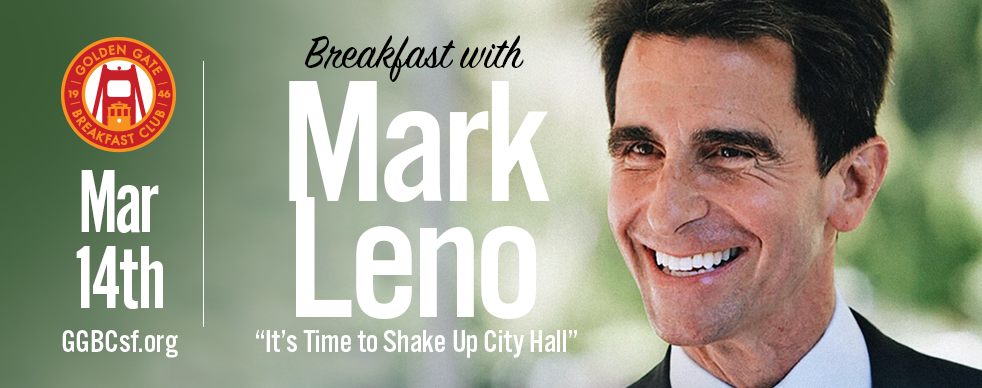 Mark Leno lost his life partner to the AIDS epidemic, dedicated himself to being a community volunteer and civic leader, and became the first openly gay man to serve in the California Senate. Mark's accomplishments include raising California's minimum wage to $15, requiring developers to build affordable housing in every large project, stopping the chemical industry from putting dangerous toxins in consumer products, and passing landmark laws for equal rights, marriage equality, and protecting transgender Californians. Mark has run a small business in San Francisco for 40 years. He lives in Noe Valley, and would be the first gay Mayor in San Francisco history. Learn more about Senator Leno at  www.MarkLeno.com