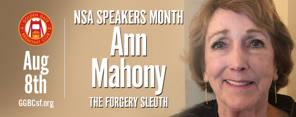Ann Mahony, CDE - Known as the Forgery Sleuth, Ann is board certified in Document Examination and has been court qualified since 1982, testifying in Federal and Superior Court on forgery and fraud. Her work includes, but is not limited to wills, deeds, contracts, medical records, calendar, journal and notary entries, anonymous letters, hate mail, graffiti and elder fraud. She has provided training for the State Bar of California, State Bar of Illinois, California Association of Police Training, Northern California Fraud Investigators, American Association of Legal Nurse Consultants, Safeway Stores, Pacific Bell, and others. Clients include Bank of America, Federal Express, Coldwell Banker, Chicago Title, State Farm, Kaiser Permanente and others.
