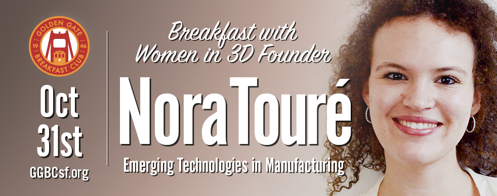 Nora is a 3D Printing expert since 2010, passionate about how products are made: from design to manufacturing, using emerging technologies, such as IoT, artificial intelligence, virtual reality, robotics and 3D printing / Additive Manufacturing. Nora's expertise is in building strategic alliances and strong business relationships. Named amongst the 20 most influential women in Additive Manufacturing every year since 2015, Nora also received the Certificate of Honor in Manufacturing by the City of San Francisco in 2017 for her work with Women in 3D Printing, and was awarded Community Advocate of the year 2018 by her peers. Nora founded Women in 3D Printing in 2014 to promote women leaders in the Additive Manufacturing industry. She also co-initiated and co-organizes #3DTalk, an industry-specific and educational event series featuring women in the 3D Printing and related industries. #3DTalks are global events hosted in various cities across the USA and Europe.