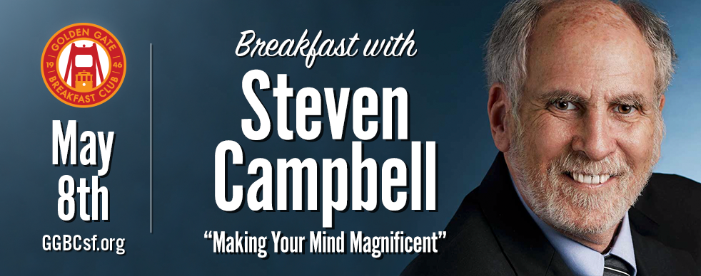 "About Steven Campbell  I have been a professor, speaker, author, father and husband – married for over 47 years – who has been teaching Tame Your Mind for colleges, universities, businesses and audiences for over 30 years. All of this really began when I was laid off during the Great Recession of 2008 ""Making Your Mind Magnificent"" reveals how my feelings did NOT come from losing my job – they came from what I SAID TO MYSELF about losing my job. So by learning how to replace what I was saying to myself with positive messages, I also learned I now had the power to create any life I wanted."