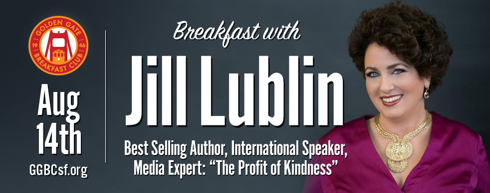 With 200+ speaking engagements each year, master publicity strategist and consultant, and bestselling author, Jill Lublin, consistently wows audiences worldwide with her entertaining and interactive keynotes, seminars, and training programs on publicity, networking, kindness and influence marketing.  Visit  JillLublin.com  or  ProfitofKindness.com , or call 415-883-5455 for more information. For media interviews or to book Jill to speak contact Jennifer Ellis –  jennifermarieellis@outlook.com  /
