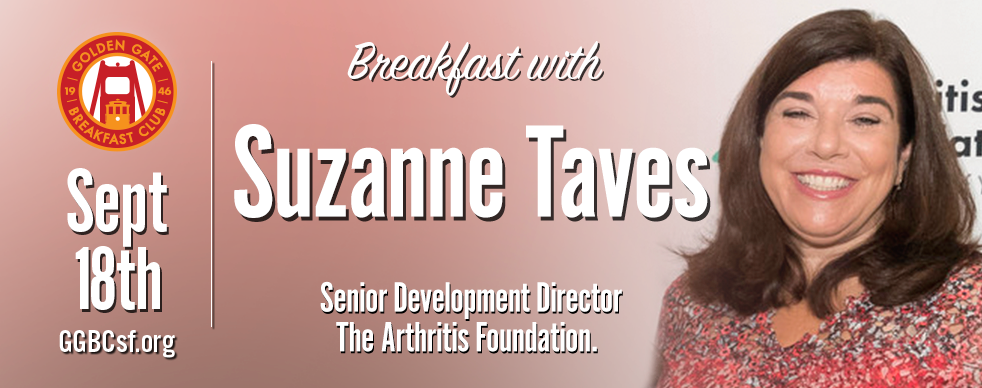 Suzanne Taves is the Senior Development Director at The Arthritis Foundation. She has been working for various non-profits for 8 years as a sunset career, following a long career in Human Resources. She did not go looking for arthritis, it found her when her daughter was diagnosed at age ten. At that time she didn't know that children got arthritis and had no idea that it was a very serious incurable disease. Her daughter has been on chemotherapy and biologic treatments for ten years and she looks forward to sharing knowledge in a raw and personal way.