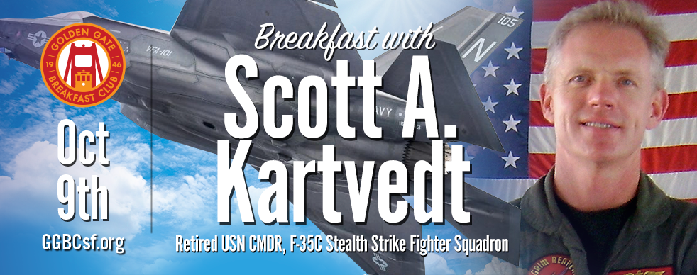 Scott is currently a 737 and Human Factors Instructor for United Airlines and he is the Lead Solo pilot for the Patriot Jet Team flying the #5 jet. Scott retired from the Navy in 2013 as the Navy's first Commanding Officer of the only F-35C Stealth Strike Fighter Squadron in the US inventory; Strike Fighter Squadron ONE ZERO ONE based in Eglin AFB, Florida. Scott also commanded an F/A-18 Hornet squadron during two combat deployments to Afghanistan in Support of Operation ENDURING FREEDOM. While leading the 250 Sailors, the Rampager's of VFA-83 were awarded the 2009 Commander Naval Air Forces Aviation Battle Efficiency Award, the CAPT Michael J. Estocin Award as the Navy's Strike Fighter Squadron of the year and the 2010 CNO Safety Award.