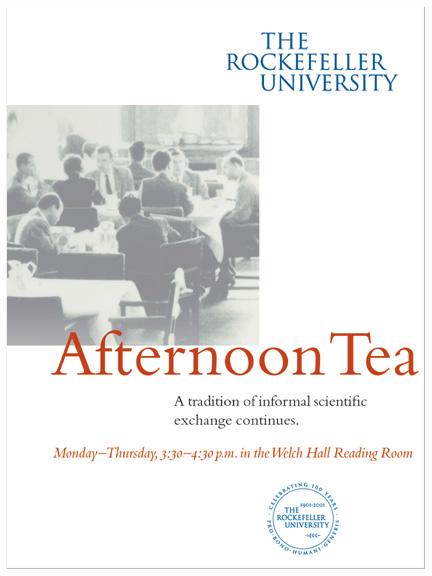 RU afternoon tea invitation