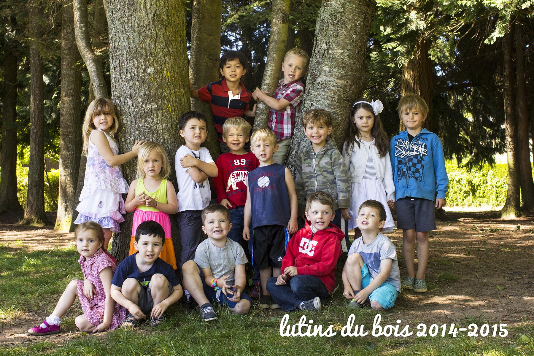 Lutins du Bois Class of 2015 (Tuesday + Thursday)