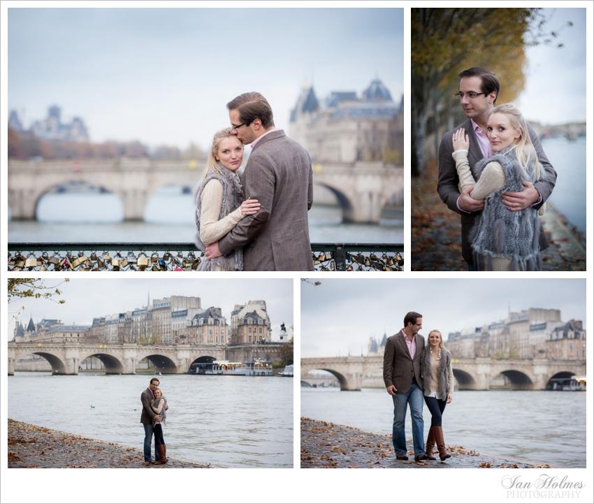 romantic stroll on the paris quayside