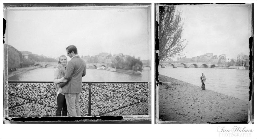 engagement photography polaroids