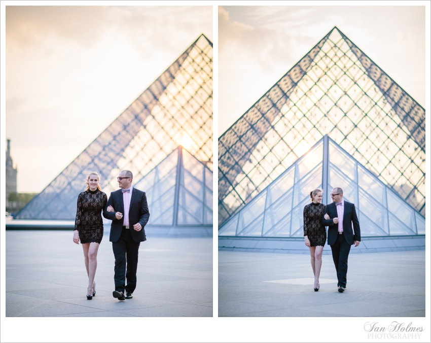 lovers at the louvre