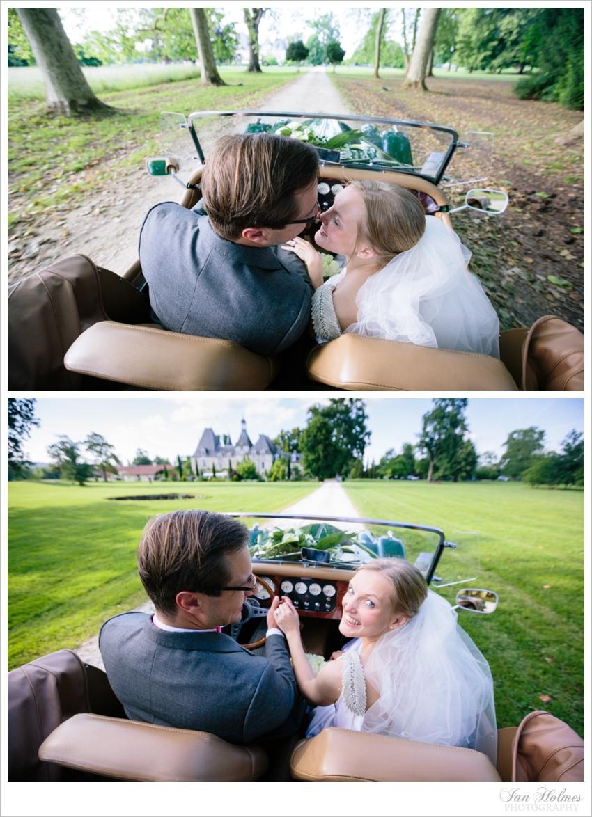 morgan wedding car