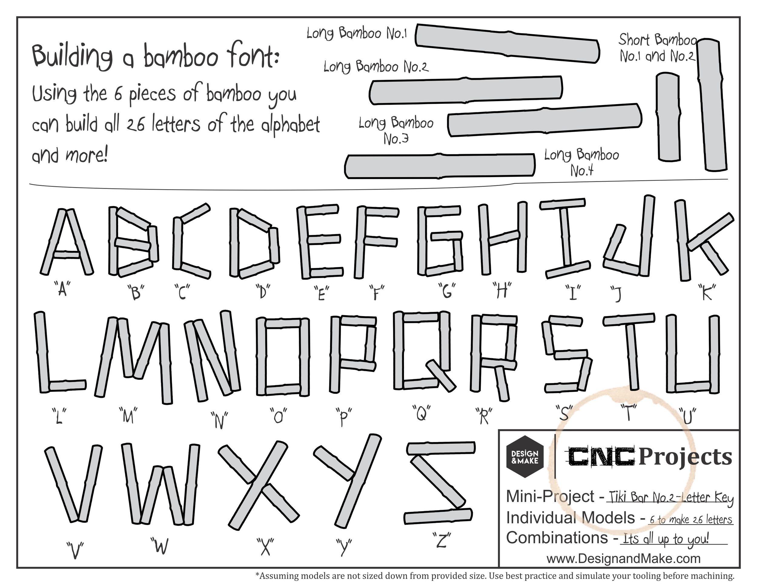 Letter Key - Click to enlarge