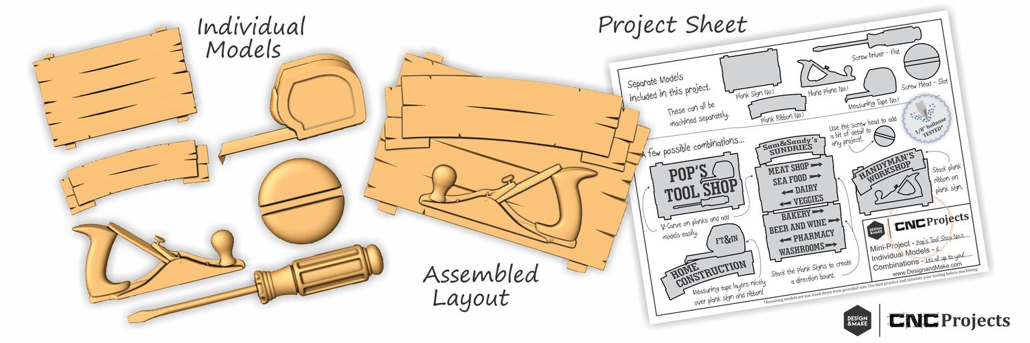User Applications — Design and Make CNC Projects