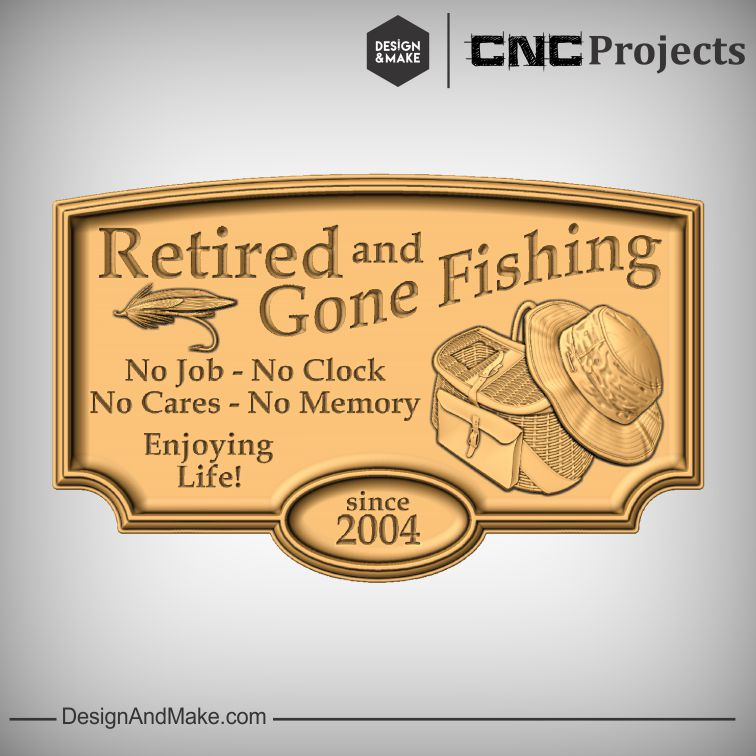 Gone Fishing No 1 — Design and Make CNC Projects