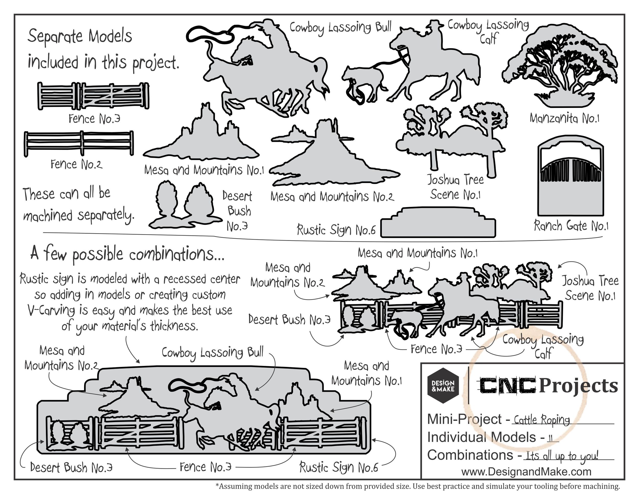 Project Sheet - Click to enlarge.