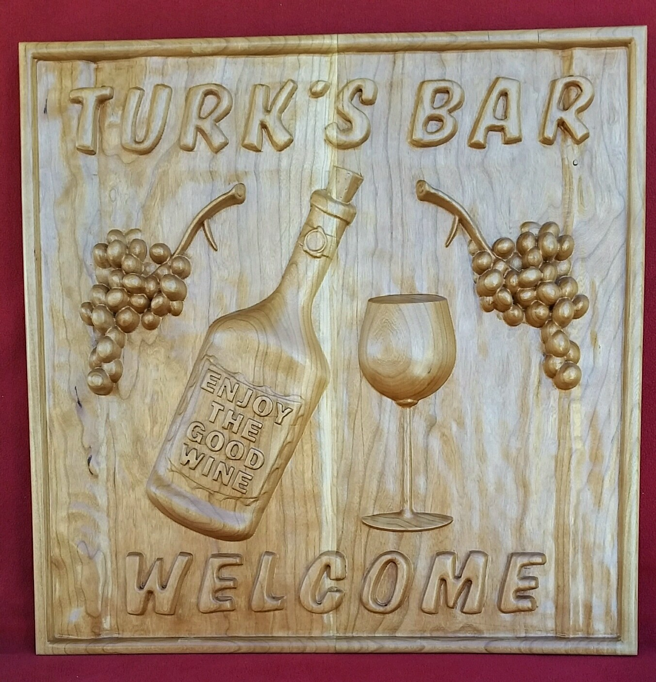 Scott used the  Wine Bar No.1  CNC Project for his layout.