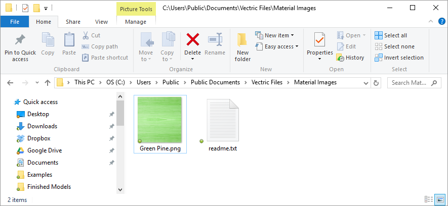 Click image to zoom so you can see the folder location.