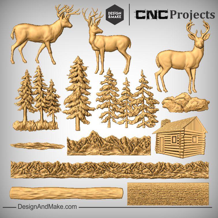 Deer Mantel - All Models.jpg