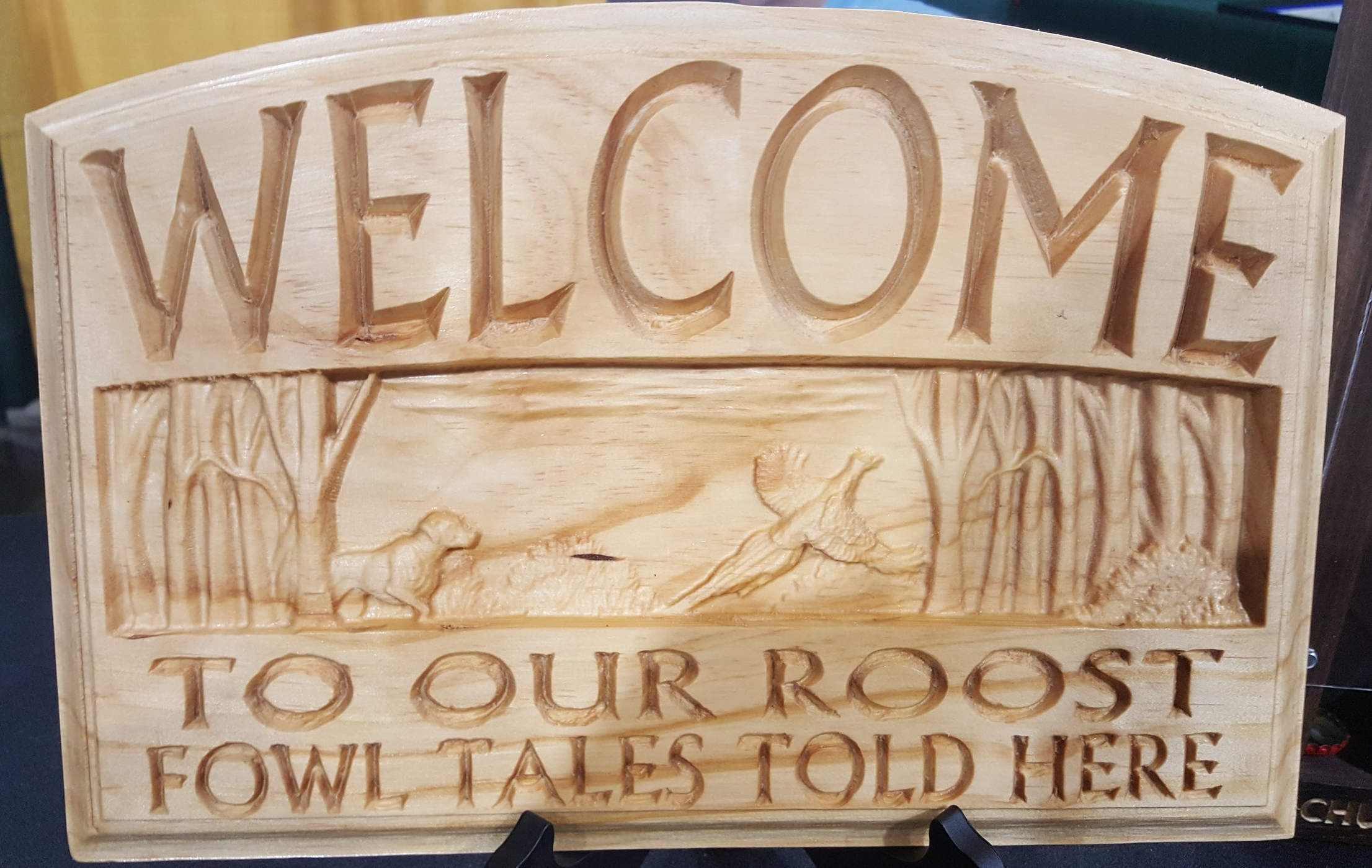 """""""Welcome to our roost - Fowl tales told here"""""""