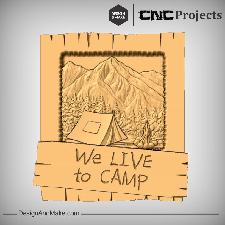 """""""We Live To Camp"""""""