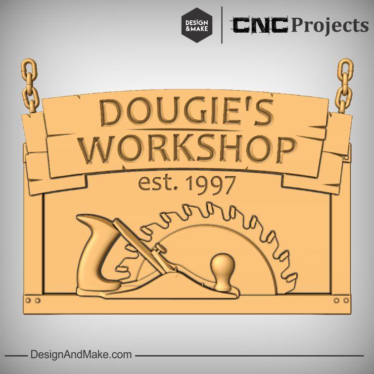 Customizable Workshop Sign