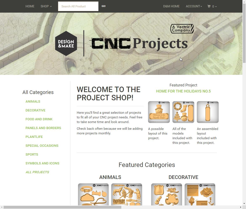 Visit our New Project Shop!