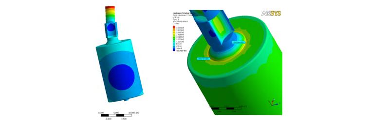 FESS Rotor FEA