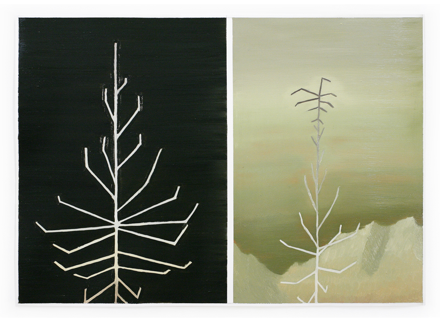 Totem in Diptych