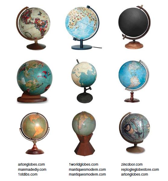 Nice globes.