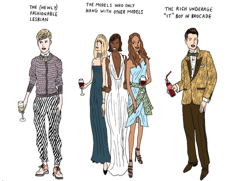10 types of people you meet at fashion week parties - NYmag.com