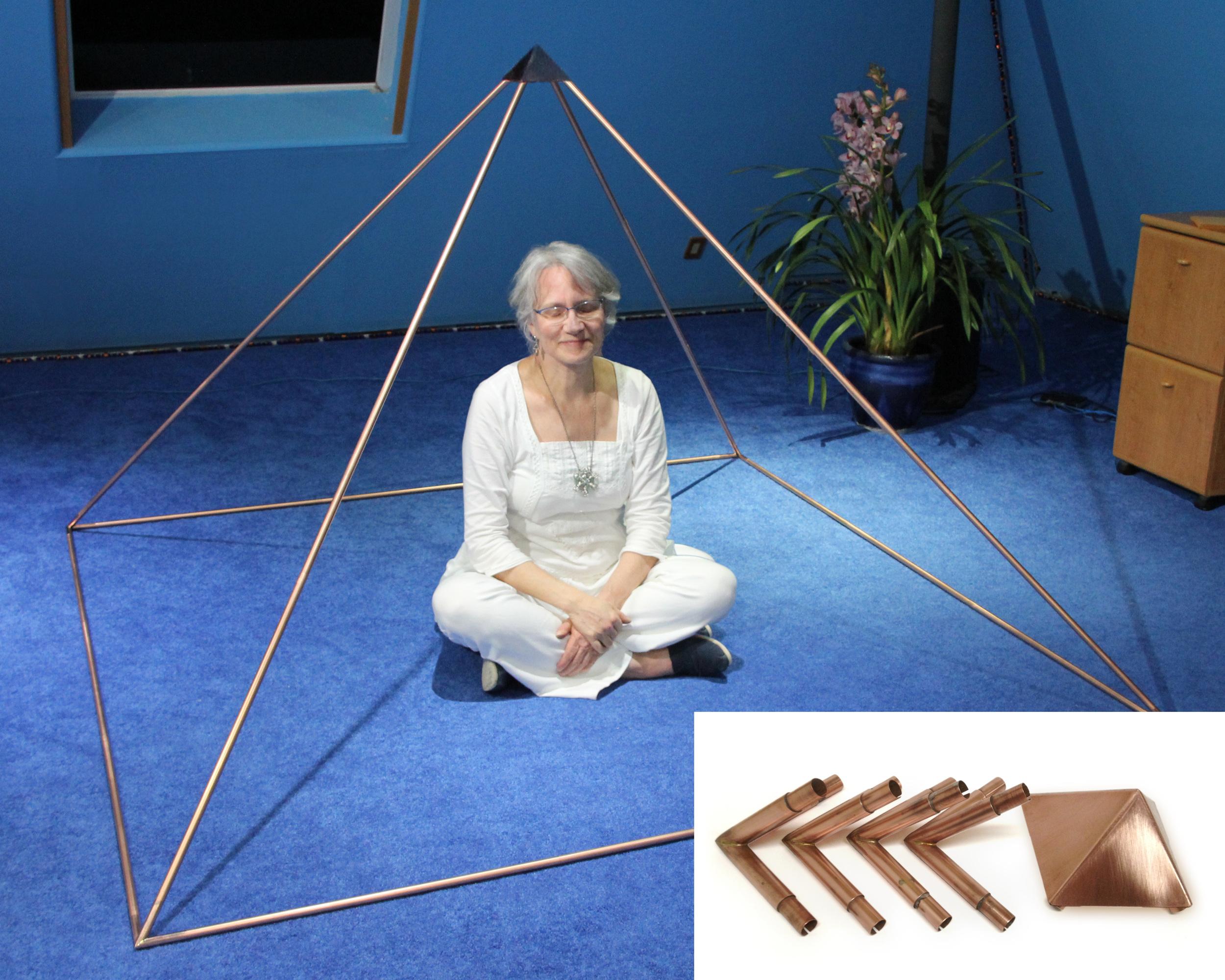 Copper Meditation Pyramid Systems — The Meditation Pyramids of the