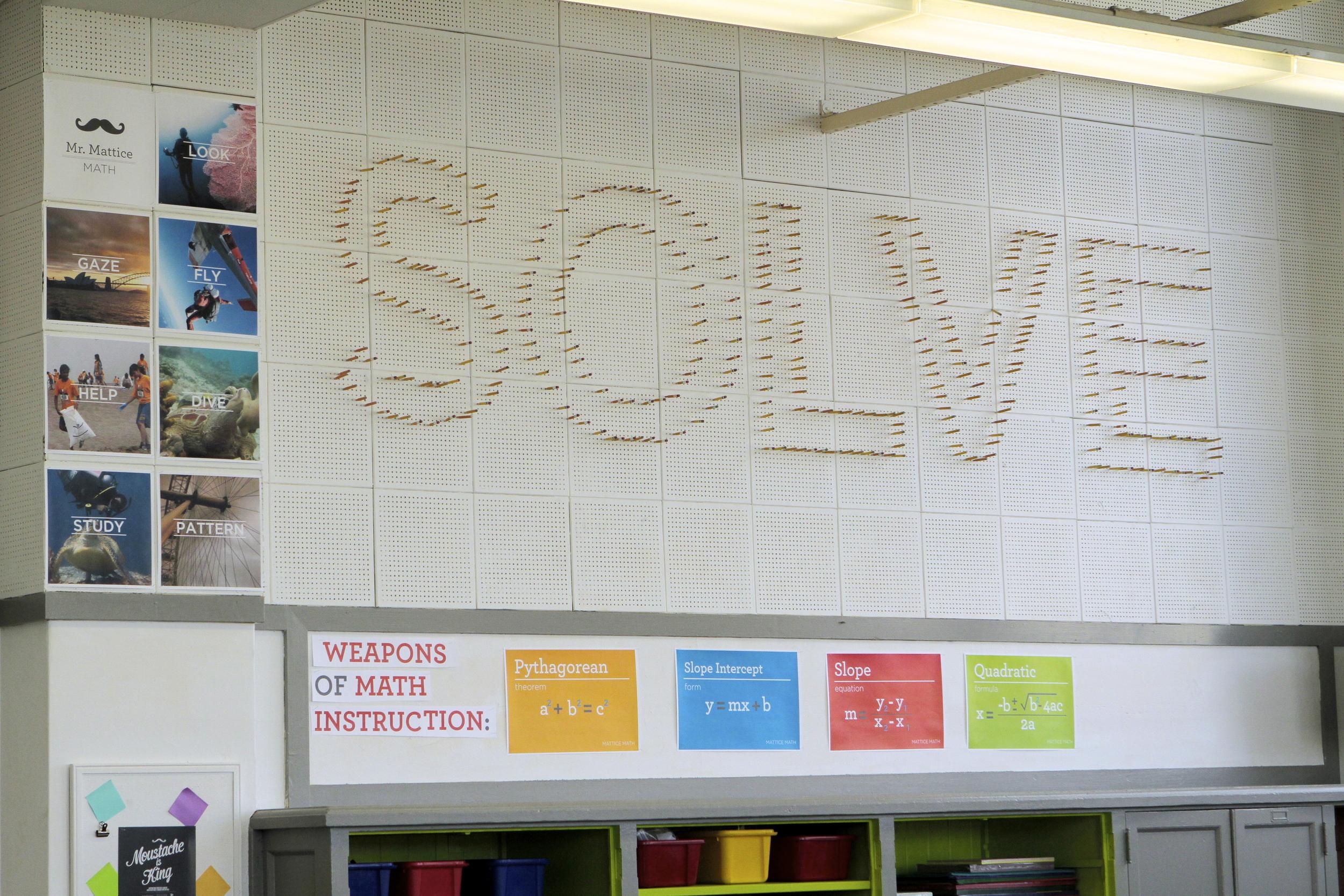 SOLVE problem solving process wall