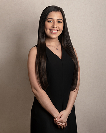 Leslie Duran   Leslie graduated from Dominican College in 2018 with a Bachelors Degree in Business Management. She is our customer service representative and administrative assistant. Leslie happily greets clients and offers assistance with all inquiries.