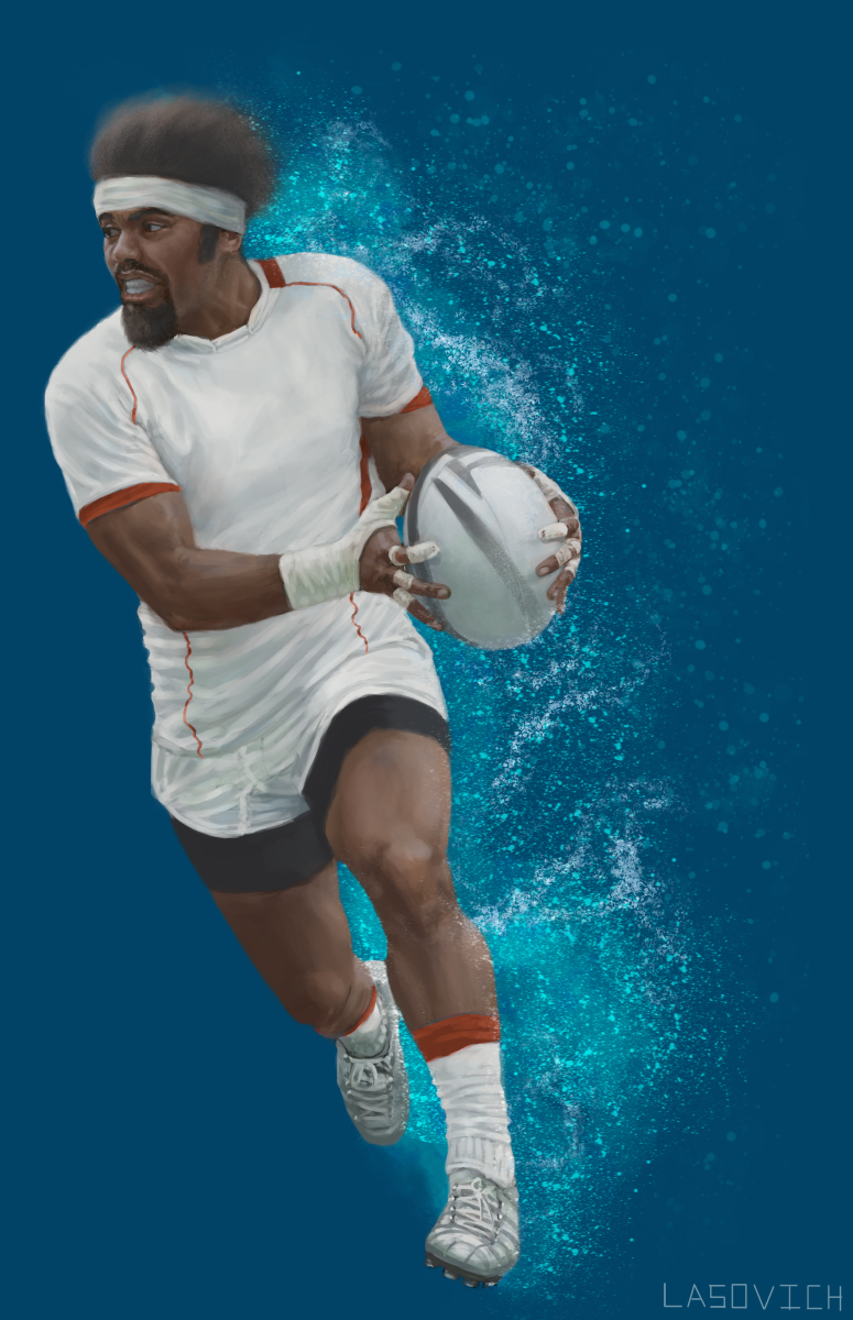 Male Promotional Figure for the World Rugby Organization
