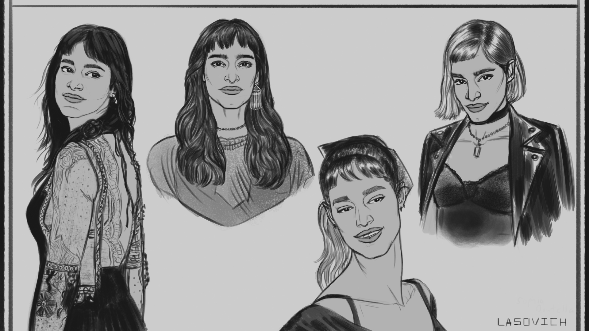 Nick Lasovich- Sophia Boutella sketches.jpg