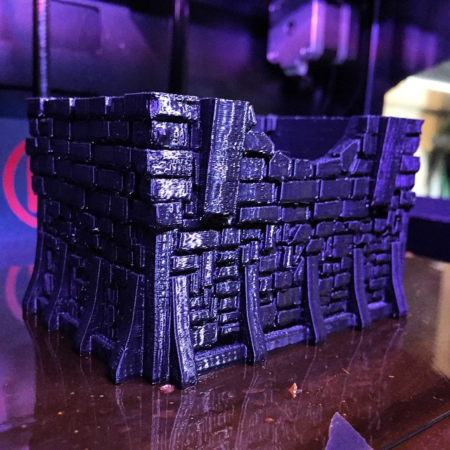 3D Printable Scenery for Gaming
