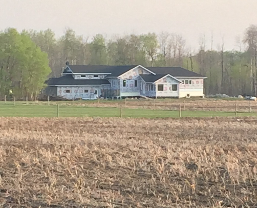 David Boe's house, allegedly built using funds from Peachy Printer's crowdfunding campaign