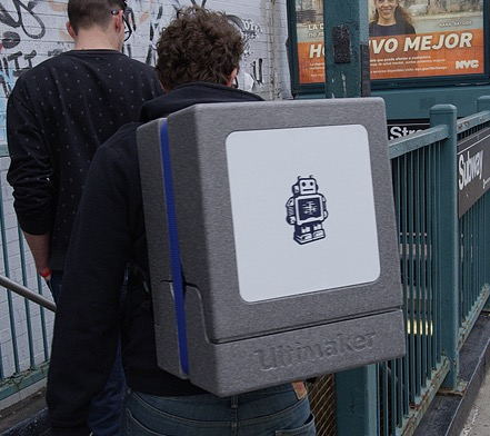 The Ultimaker Backpack surviving NYC travel