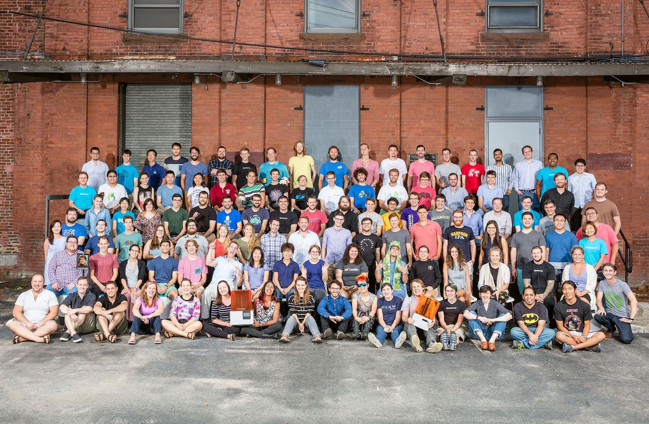 The entire Formlabs team