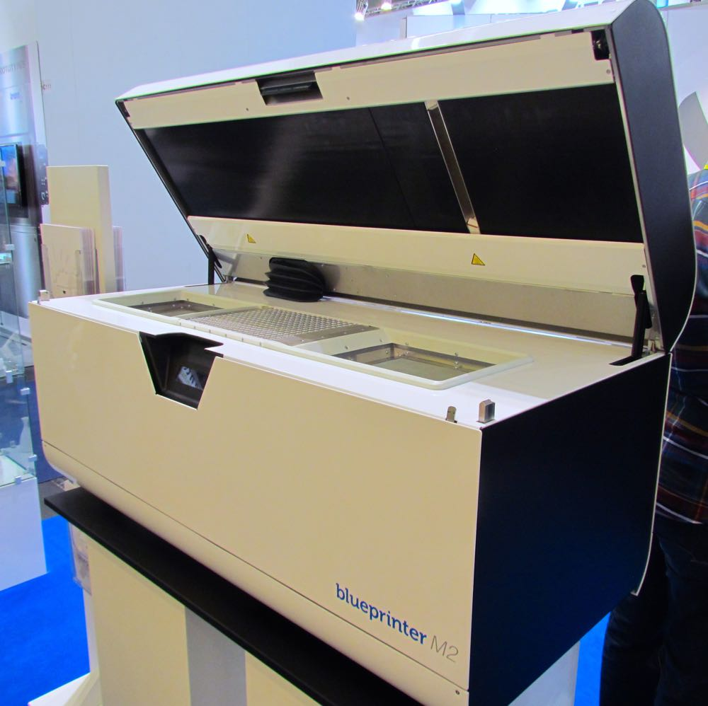 The M2, one of Blueprinter's 3D printer models