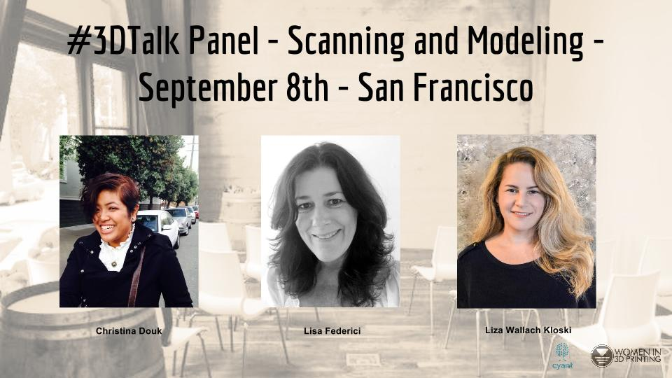 There's a 3D printing event taking place in San Francisco