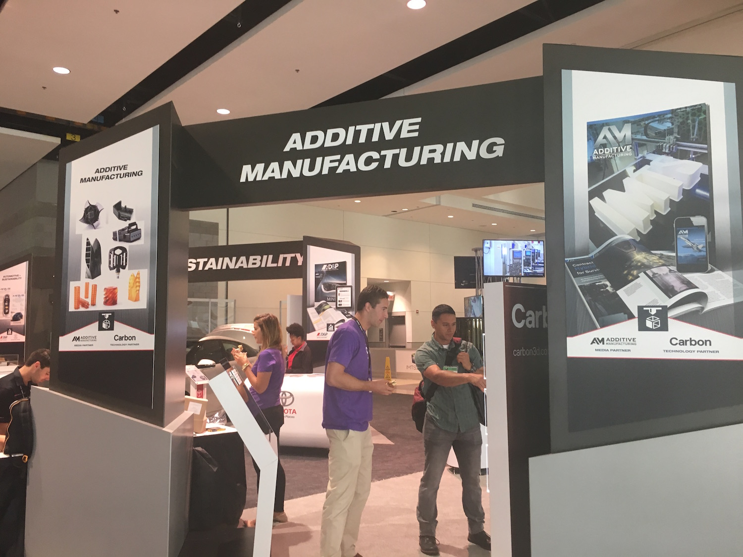 Carbon's stand at IMTS